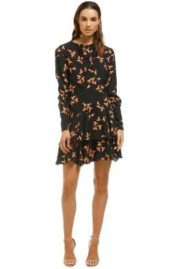 Lover-Dove-Mini-Dress-Black-Front