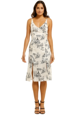 Lover-Wild-Cat-Silk-Dress-Print-Front