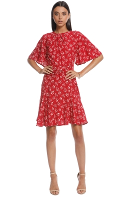 Lover - MIMOSA MINI DRESS - Red - Front