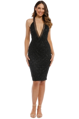 Madame X - Roya Dress - Black - Front