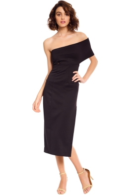 Maurie & Eve - Genesis Dress - Black - Front