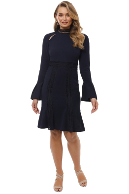 Ministry of Style - Azzedine Dress - Navy - Front
