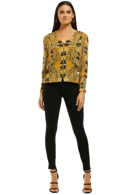 Ministry of Style - Gold Light Shirt - Front