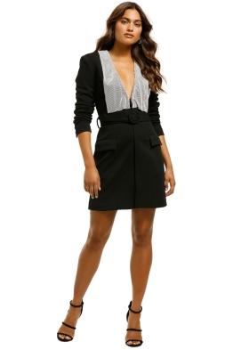 Misha-Helen-Blazer-Dress-Black-Font