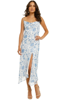Misha-Miriam-Dress-Blue-Floral-Front