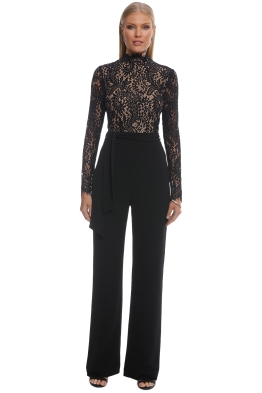 f70e4a391656 Misha Collection - Allegra Pantsuit - Black - Front