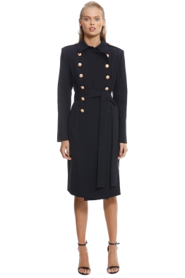 Misha Collection - Andrea Coat  Navy - Front