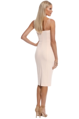 4eb4b2f1a1d4 Misha Collection - Dylan Midi Dress - Blush - Front