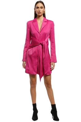 Misha Collection - Teagan Dress - Fuschia - Front