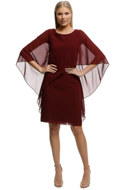 feb5de7c2119 Montique-Ciana Cocktail Dress Wine-Wine-Front