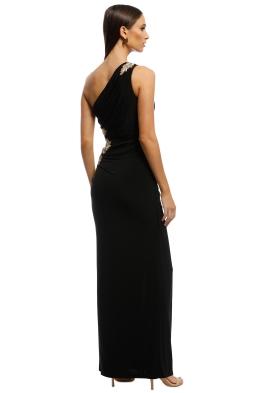 26244380fa Montique - Donatella Applique Gown - Black - Front