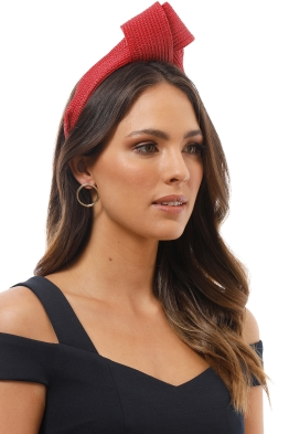 Morgan and Taylor - Presley Turban - Red - Product Image