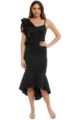 Mossman - Meet Me At Midnight Dress - Black - Front
