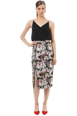 Mossman - The Secret Garden Skirt - Print - Front
