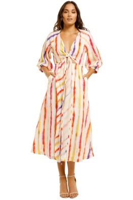 Nicholas-Asilah-Dress-Brushed-Ranbow-Front