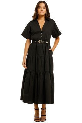 Nicholas-The-Label-Amina-Dress-Black-Front