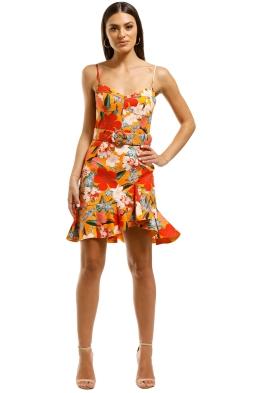 Nicholas-The-Label-Arielle-Frill-Dress-Poppy-Front