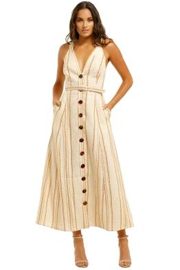 Nicholas-Yasmine-Dress-Vintage-Chain-Front