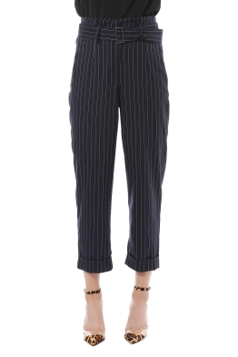 d30854da94 Nicholas the Label - Pinstripe Suiting Pant - Navy - Front
