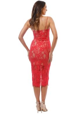 20e85211752a Nicholas the Label - Rubie Lace Bra Dress - Watermelon - Front