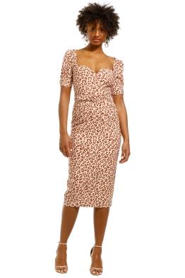 Pasduchas-Harlow-Sleeve-Midi-Dress-Leopard-Front