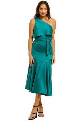 Pasduchas-Oasis-Asymmetry-Midi-Dress-Jade-Front