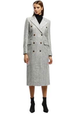 Pasduchas - Maverick Coat - Grey - Front