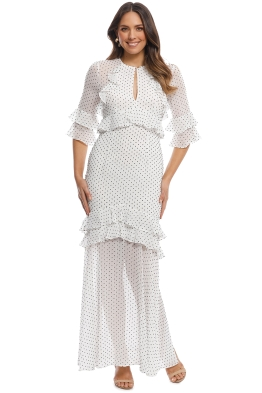 Pasduchas - Trixie Maxi Dress - Ivory - Front