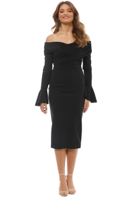 Pasduchas - Willow Midi - Black - Front