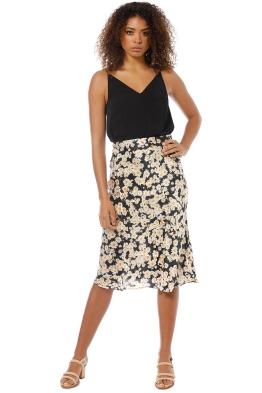 e615b2d5687 Realisation Par - The Naomi Skirt - Flower Power - Front