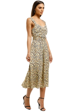 9d5cab3276fc Rebecca-Vallance-Ellie-Sleeveless-Dress-Yellow-Floral-Front