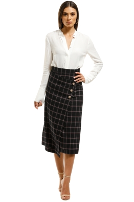 Rebecca-Vallance-Peta-Skirt-Plaid-Purple-Front