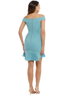 98e90b721f1a2 Rebecca Vallance - Anise Mini Dress - Blue - Front
