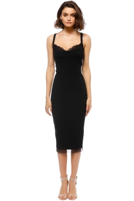 Rebecca Vallance - Demoiselles Dress - Black - Front