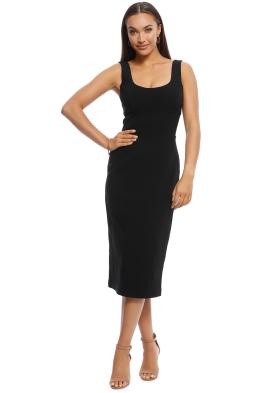Rebecca Vallance - Eddie Dress - Black - Front