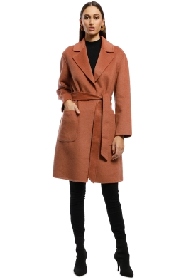 Rodeo Show - Chicago Coat - Cinnamon - Front