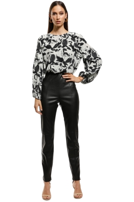 Rodeo Show - Drew Pants - Black - Front