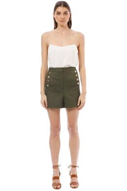 Rodeo Show - Ren Shorts - Khaki - Front