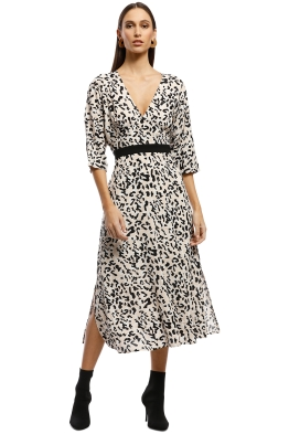 Saba - Cadillac Midi Dress - Multi - Front