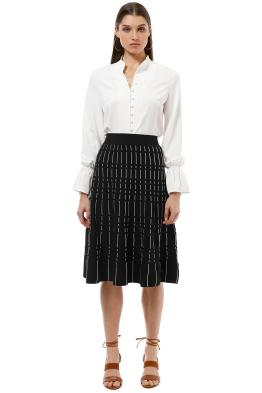 Saba - Milly Milano Skirt - Black White - Front