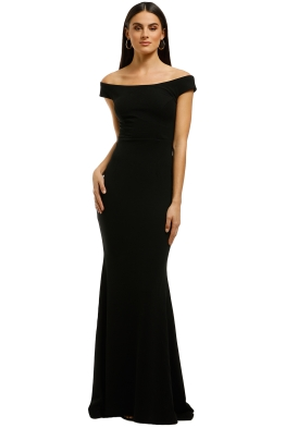 Samantha-Rose-Thompson-Gown-Black-Front