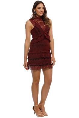Designer Burgundy Amp Maroon Evening Dress Rental Glamcorner
