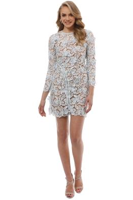 Self Portrait - 3D Lily Mini Dress - Front