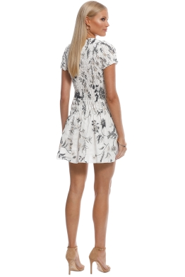 0cc39ef69a SIR the Label - Mariele Ruched Tee Mini Dress - White - Front