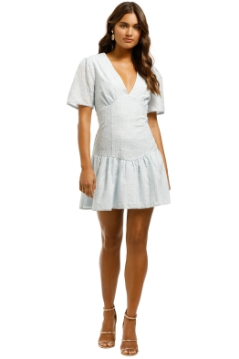 Stevie-May-Chateau-Mini-Dress-Robin-Egg-Blue-Front