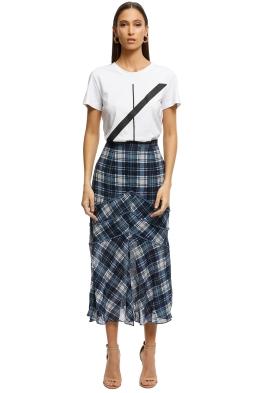 Stevie-May-Devon-Midi-Skirt-Navy-Plaid-Front