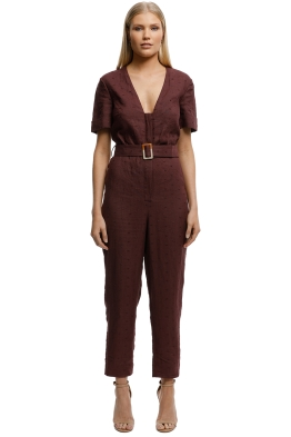 Stevie-May-Fia-Jumpsuit-Wine-Front