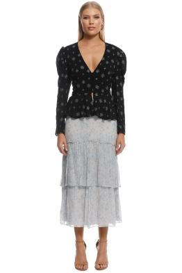 Stevie May - Iris Skirt - Blue - Front