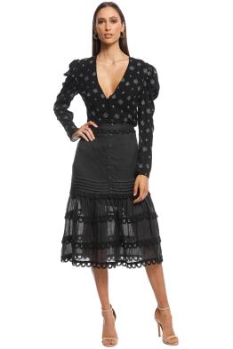 Stevie May - Margot Maxi Skirt - Black - Front