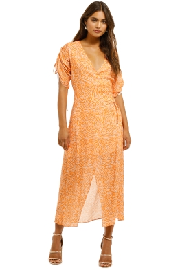 Suboo-Sienna-Wrapped-Dress-Orange-Front